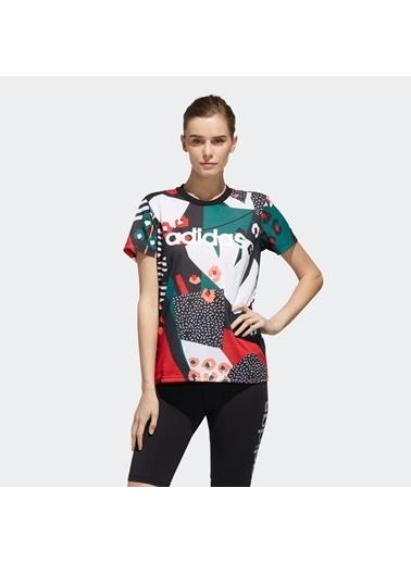 adidas Kadın Farm Rio Tişört 289065 Renkli
